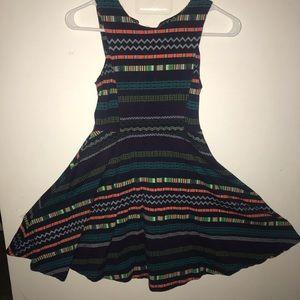 Patterned float dress